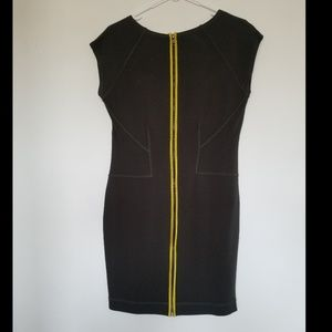 Back zipper dress